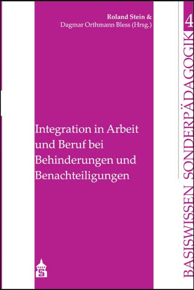 Integration in Arbeit und Beruf bei Behinderung...