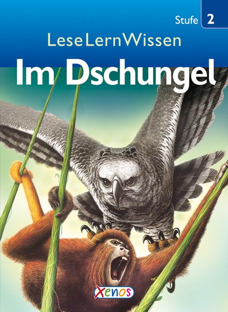 LeseLernWissen - Im Dschungel: Stufe 2 für geüb...