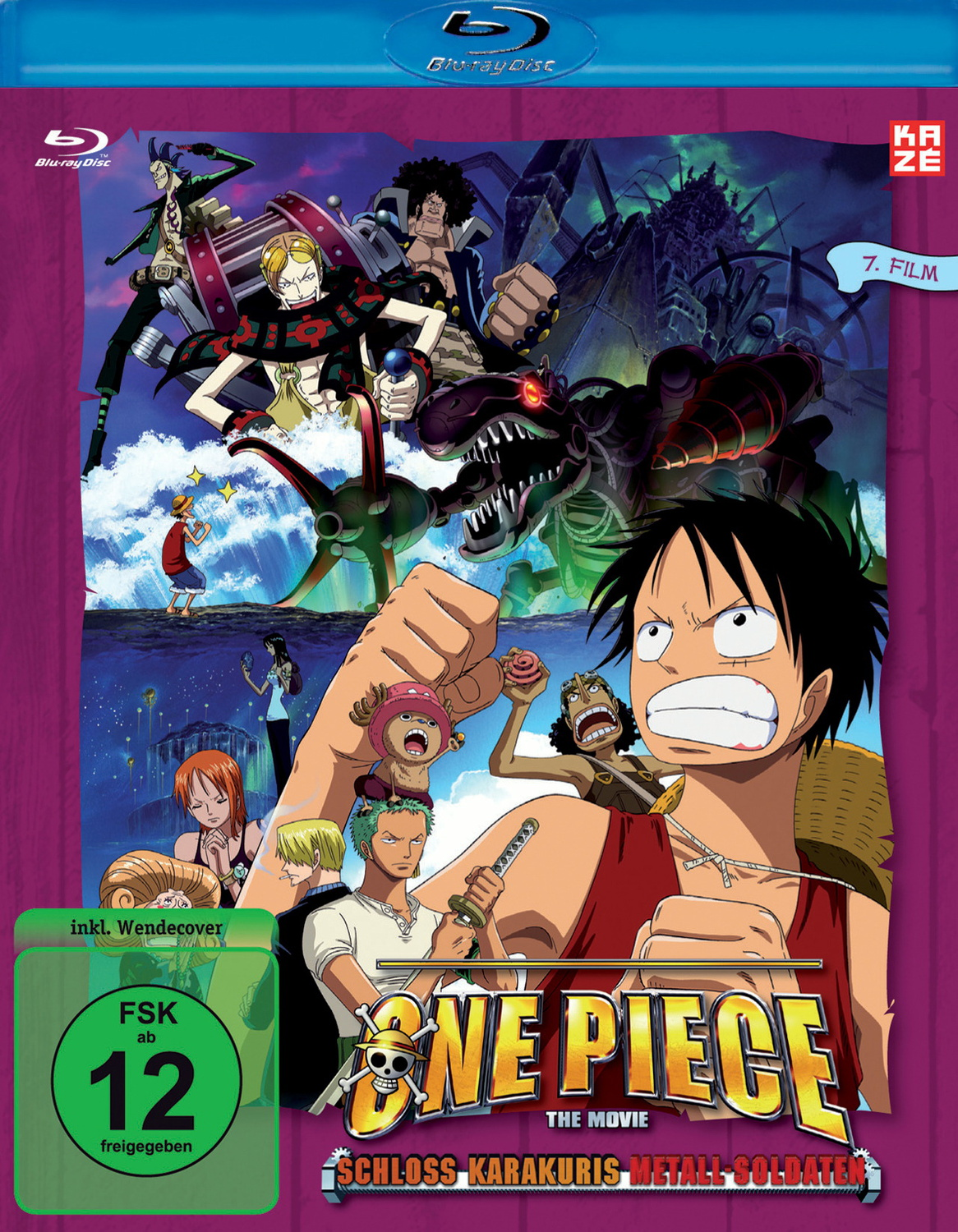 One Piece - 7. Film: Schloß Karakuris Metall-So...