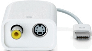 Apple Mikro-DVI-auf-Video-Adapter