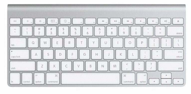 Apple Wireless Keyboard [englisches Tastaturlay...
