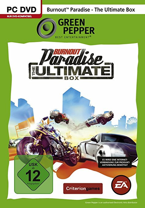 Burnout Paradise: The Ultimate Box [Green Pepper]