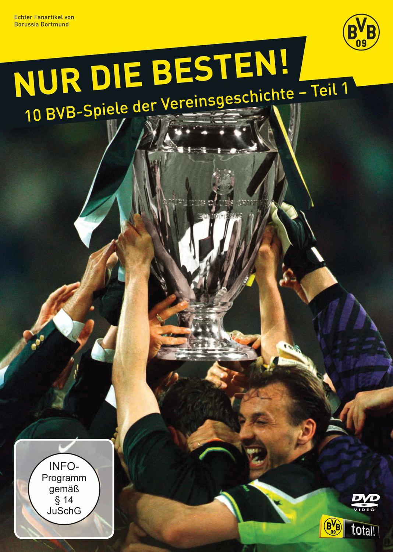 BVB - Nur die Besten! 10 BVB-Spiele der Vereinsgeschichte, Teil 1 [5 DVDs]