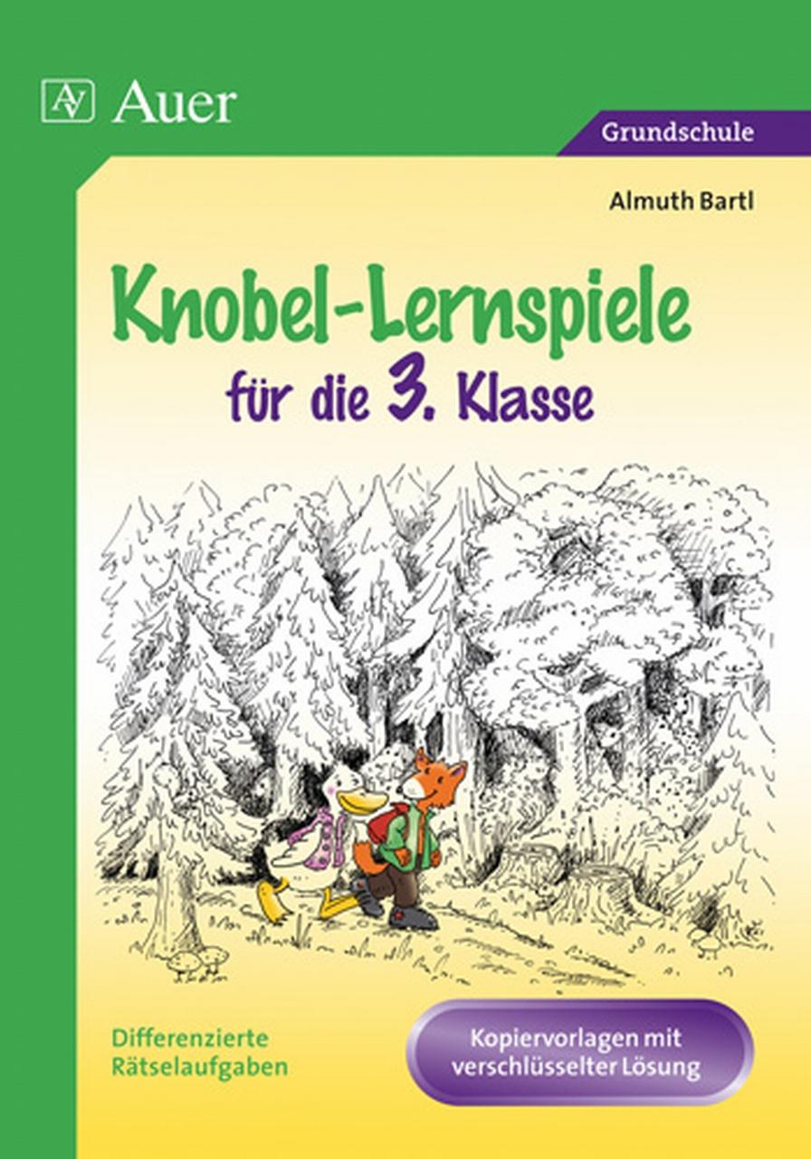 Knobel-Lernspiele für die 3. Klasse - Almuth Bartl