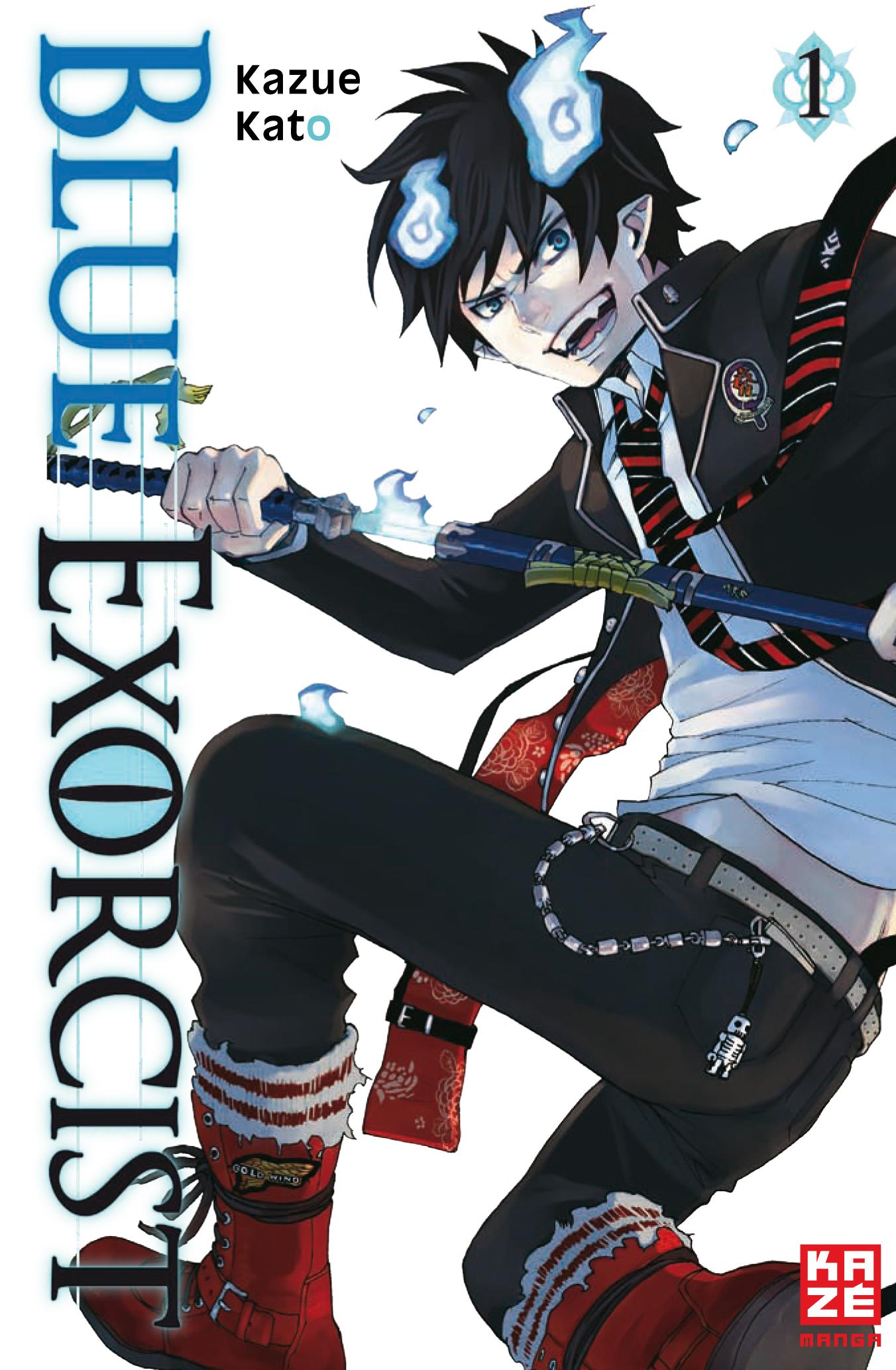 Blue Exorcist: Band 1 - Kazue Kato