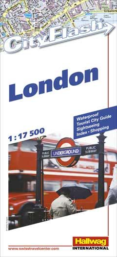 Hallwag City Flash, London: Tourist City Guide....