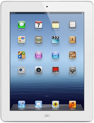 Apple iPad 3 9,7 32GB [Wi-Fi + Cellular] weiß