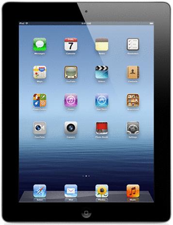 Apple iPad 3 9,7 64GB [Wi-Fi] schwarz