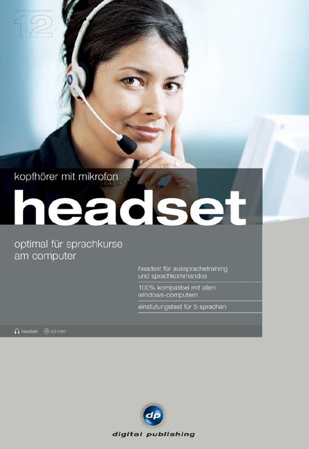 Interaktive Sprachreise 12 Headset+ Einstufungs...