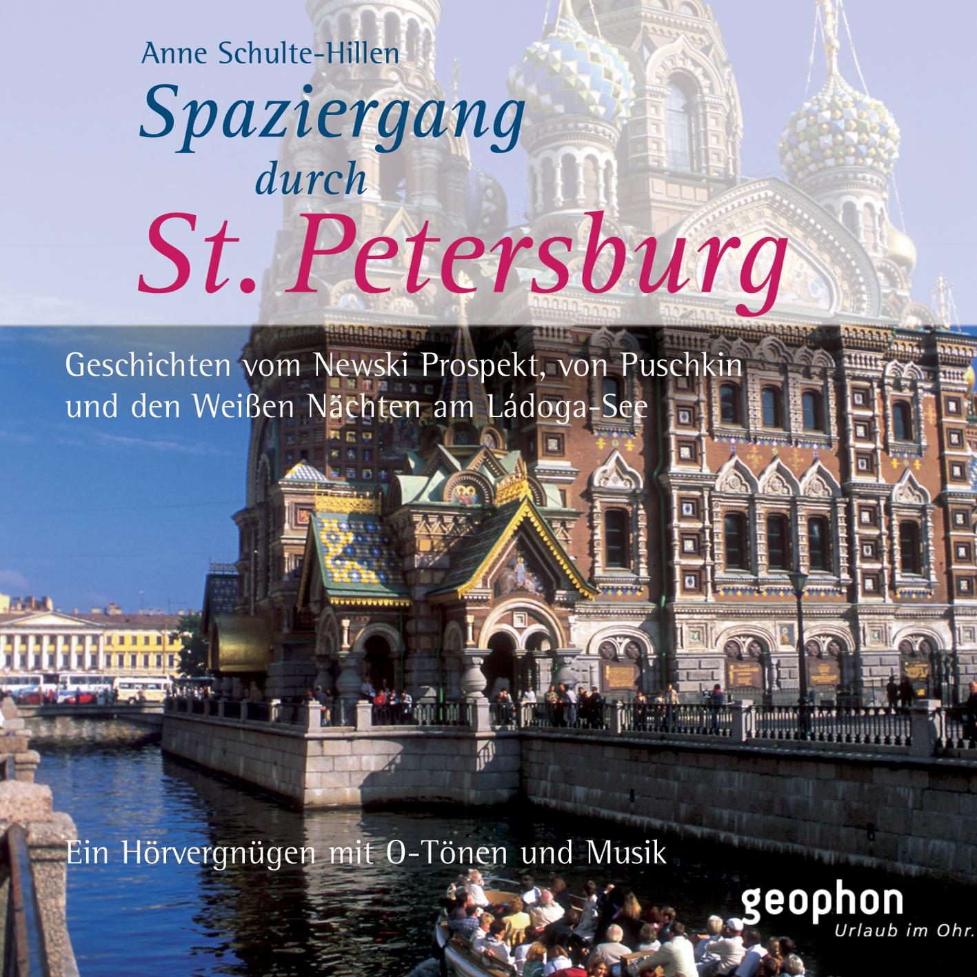 Spaziergang durch Sankt Petersburg. CD: Ein Hör...