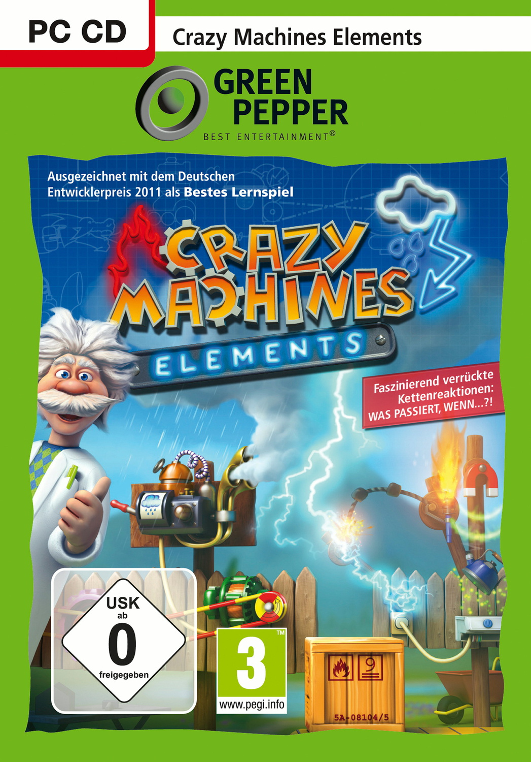 Crazy Machines: Elements [Green Pepper]