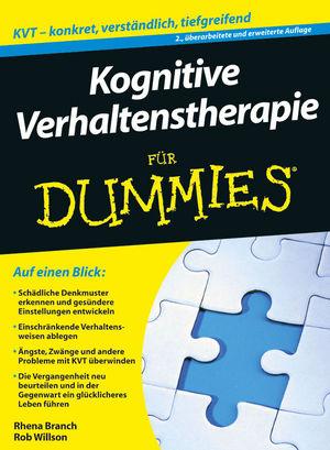 Kognitive Verhaltenstherapie für Dummies (Fur Dummies) - Rob Willson