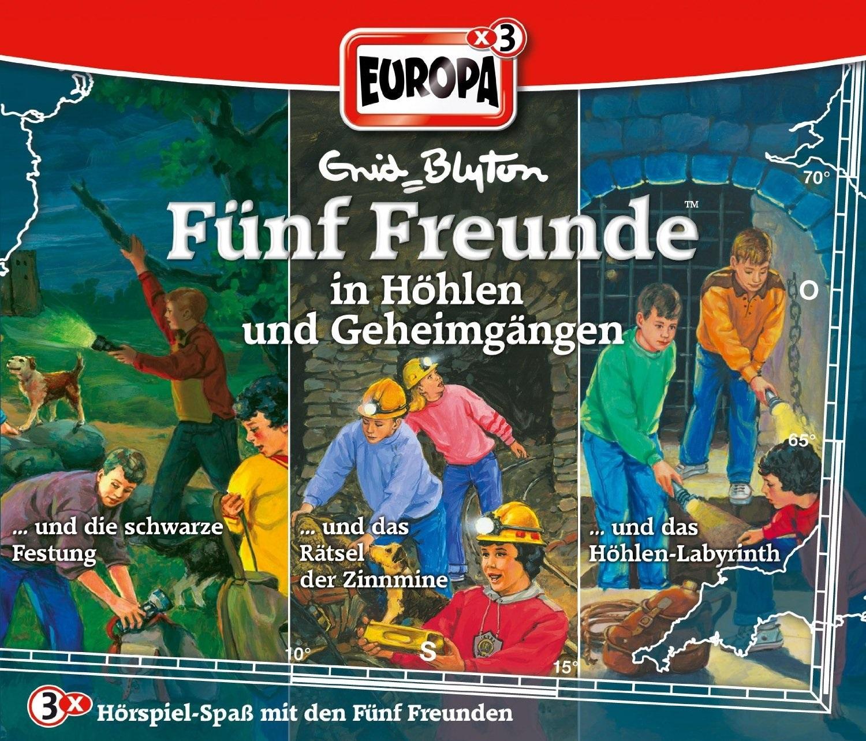 Fünf Freunde: Folgen 65 / 73 / 81 ...in Höhlen und Geheimgängen [3er Box]