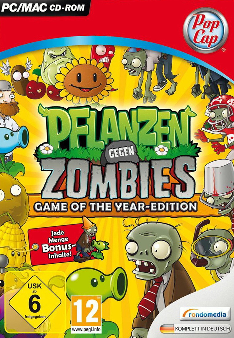 Pflanzen gegen Zombies [Game of the Year Edition]