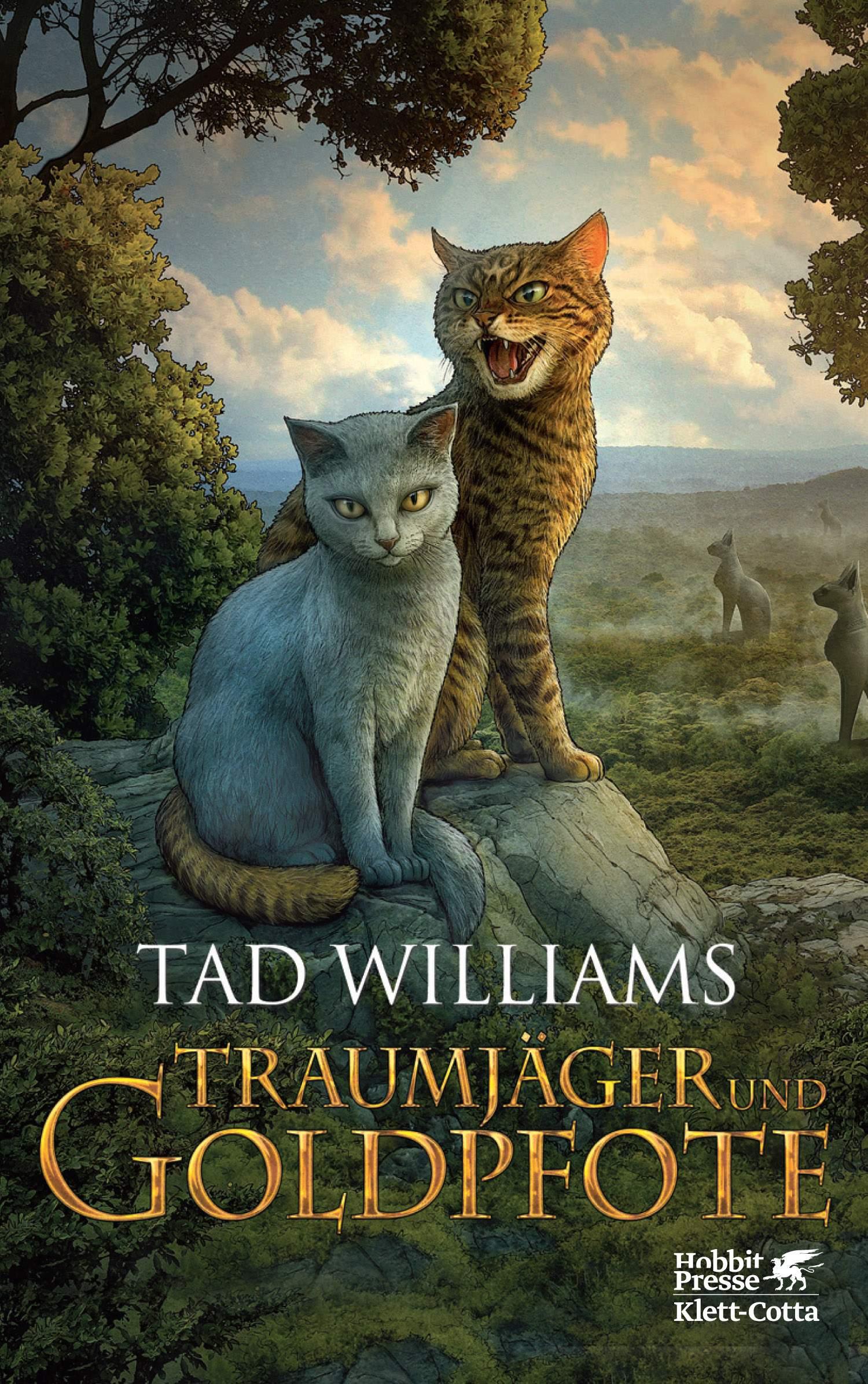 Traumjäger und Goldpfote - Tad Williams
