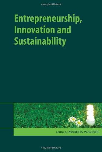 Entrepreneurship, Innovation and Sustainability