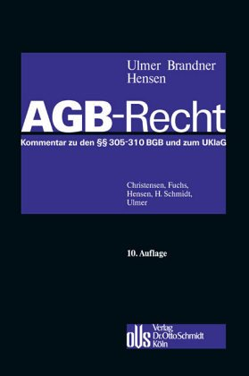 AGB - Gesetz - Peter Ulmer