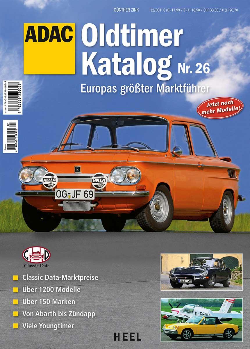 Oldtimer Katalog 26: Europas größter Marktführe...