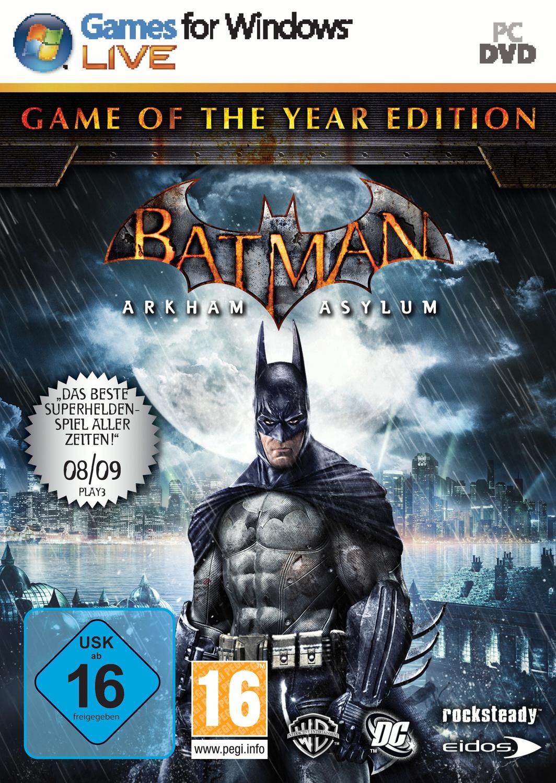 Batman: Arkham Asylum [Game of The Year Edition]