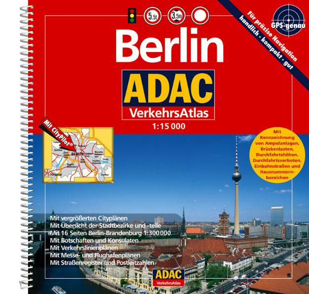 ADAC VerkehrsAtlas Berlin 2006/2007