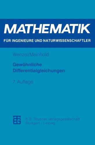 Gewöhnliche Differentialgleichungen (Mathematik...