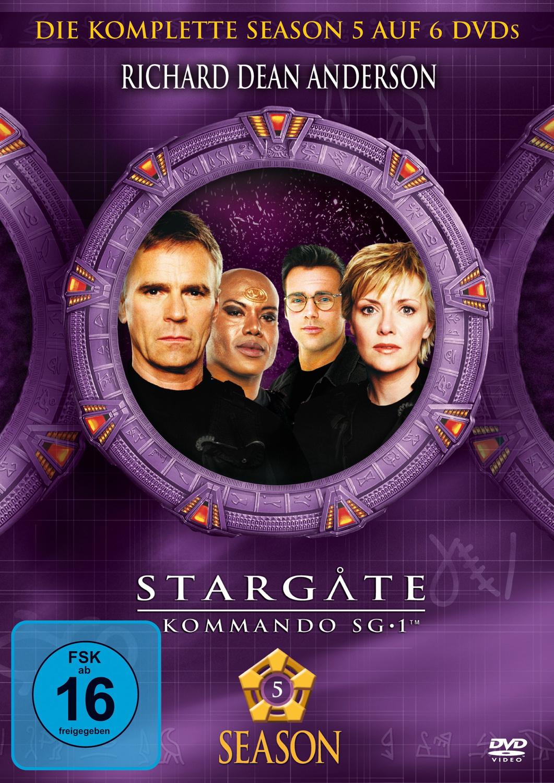 Stargate Kommando SG-1 - Season 5 [6 DVDs]