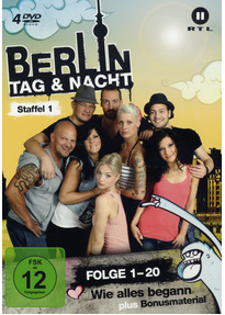Berlin - Tag & Nacht: Staffel 1 [4 DVDs]