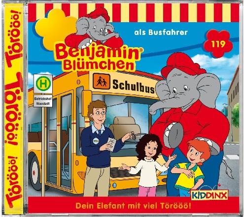 Benjamin Blümchen - Folge 119: Als Busfahrer