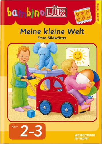 bambinoLÜK Meine kleine Welt: Erste Bildwörter 1 - Michael Junga