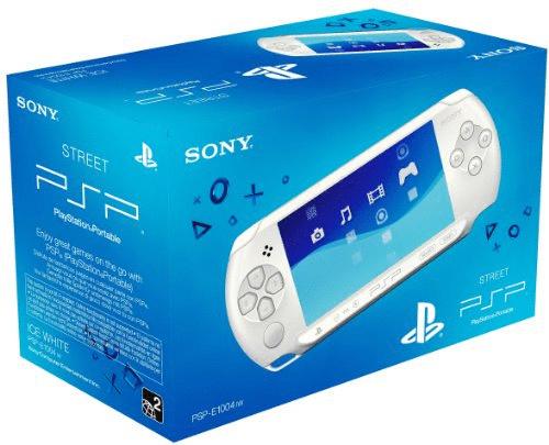 Sony PSP E1004 weiß
