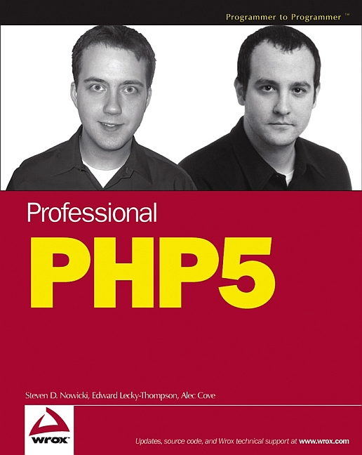 Professional PHP5 (Programmer to Programmer) - ...