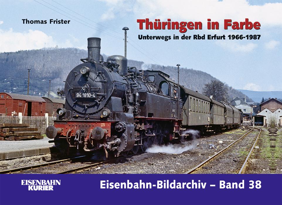 Thüringen in Farbe: Unterwegs in der Rbd Erfurt...