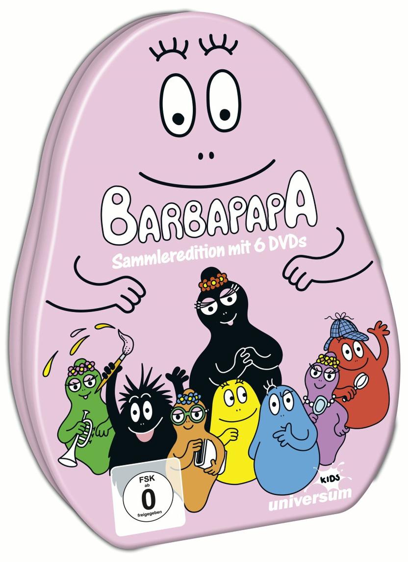Barbapapa Sammleredition (6 DVDs)