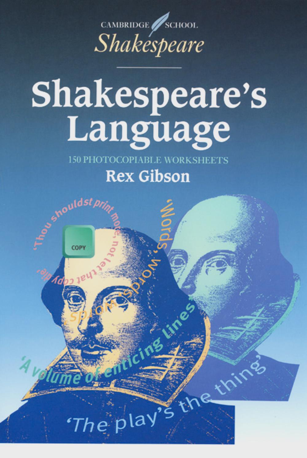 Shakespeare´s Language - Rex Gibson