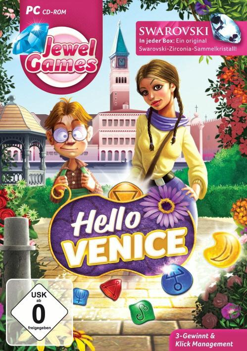Jewel Games: Hello Venice [inkl. Sammelkristall]