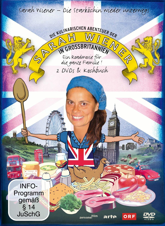 Die kulinarischen Abenteuer der Sarah Wiener in Großbritannien (2 Discs + Buch)