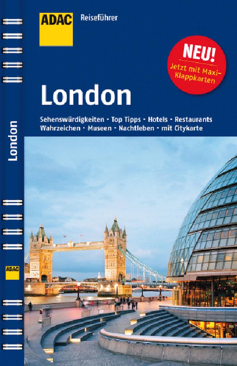 ADAC Reiseführer London: Theater, Museen, Parks...