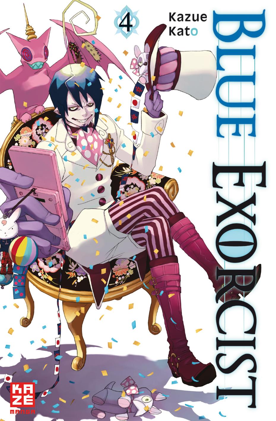 Blue Exorcist: Band 4 - Kazue Kato