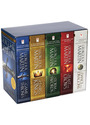George R. R. Martin Song of Ice and Fire Series: A Song of Ice and Fire Volumes 1-5 - George R. R. Martin [5 Bände im Schuber]