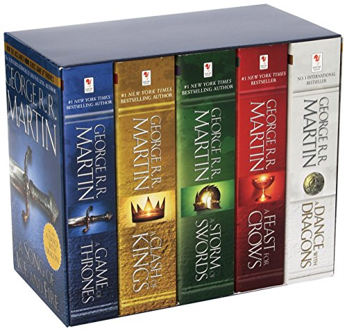 George R. R. Martin Song of Ice and Fire Series: A Song of Ice and Fire Volumes 1-5 - George R. R. Martin [5 Bände im Sc
