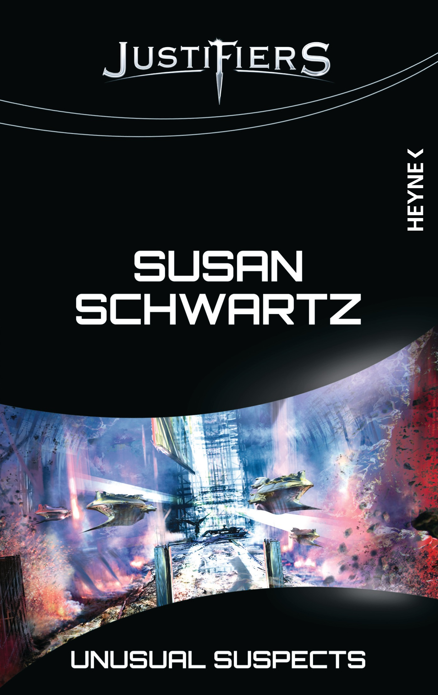 Unusual Suspects: Justifiers-Roman 10 - Susan Schwartz
