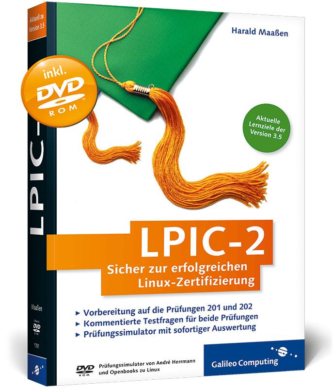 LPIC-2: Sicher zur erfolgreichen Linux-Zertifiz...