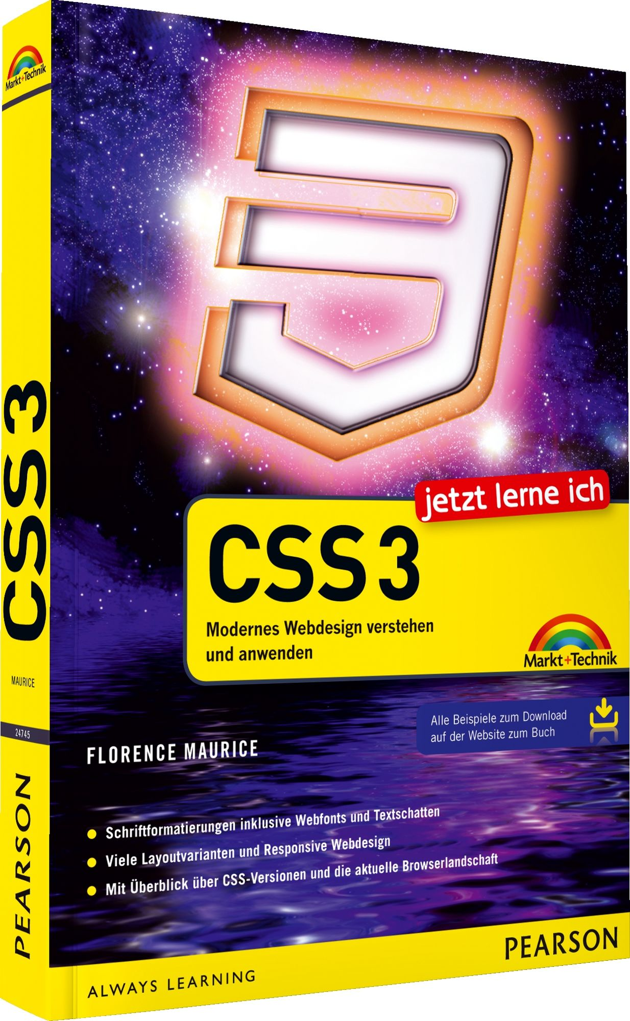 Jetzt lerne ich CSS3: Modernes Webdesign verste...