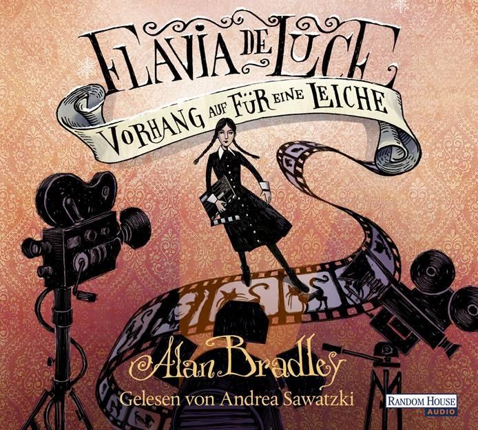 Flavia de Luce: Band 4 - Vorhang auf für eine Leiche - Alan Bradley [4 Audio CDs]