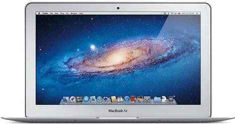 Apple MacBook Air 11.6 (High-Res Glossy) 1.6 GHz Intel Core i5 4 GB RAM 128 GB SSD [Mid 2011]