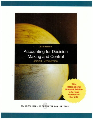 Accounting for Decision Making and Control - Je...