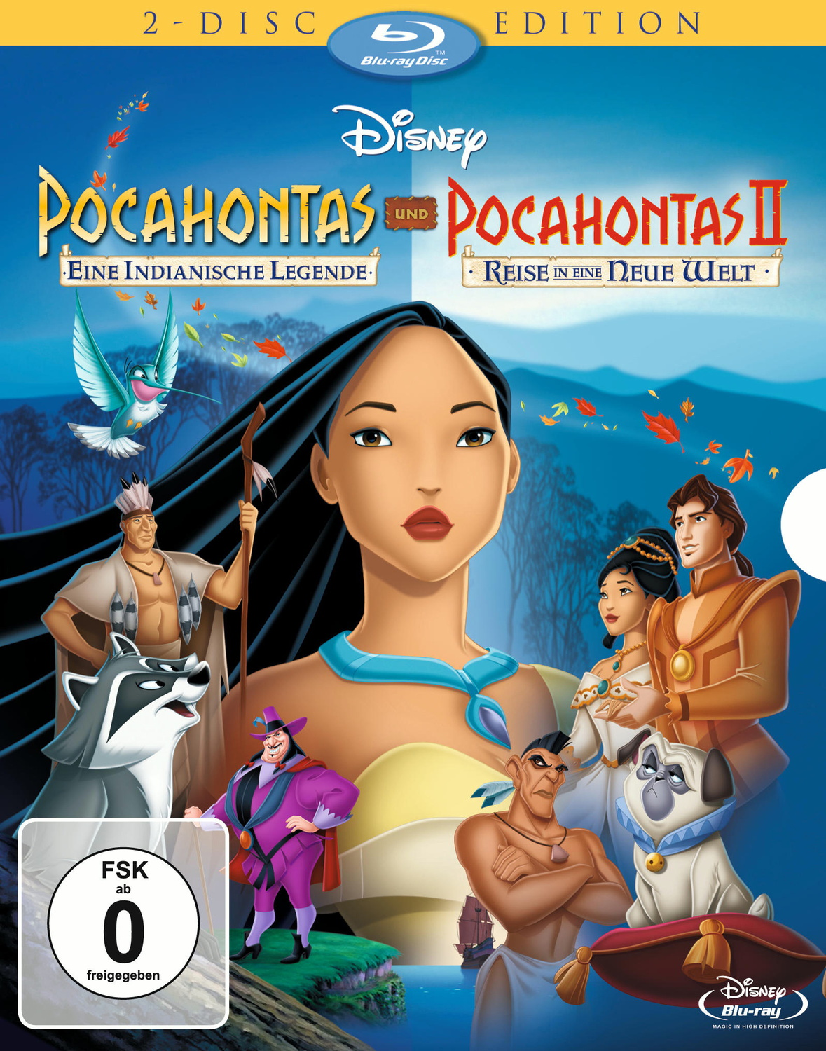 Pocahontas 1 + 2 - Movie Collection