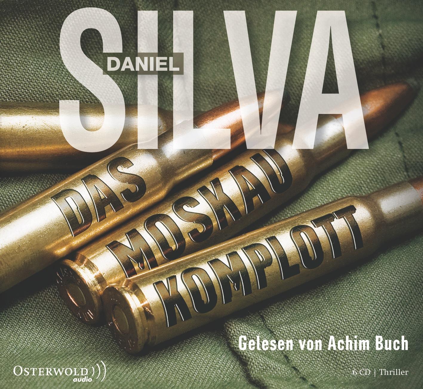 Das Moskau-Komplott (6 CDs) - Daniel Silva