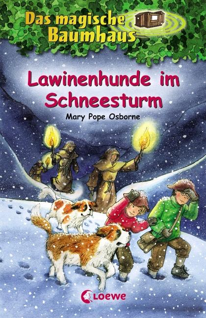Lawinenhunde im Schneesturm - Mary Pope Osborne