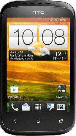 HTC Desire C stealth black